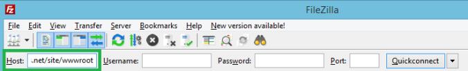 FileZilla Host