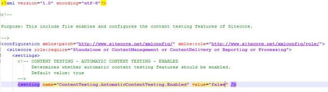Sitecore Setting