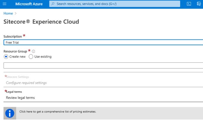 Sitecore XP Cloud MP